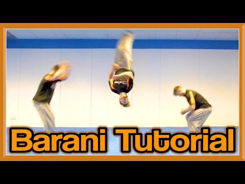Barani Tutorial (180 Front Flip)   Fraser Malik How To