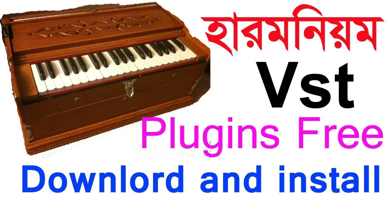 harmonium vst plugins for fl studio free download and install bangla  tutorial