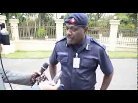 PROTESTERS DETAINED IN SUVA