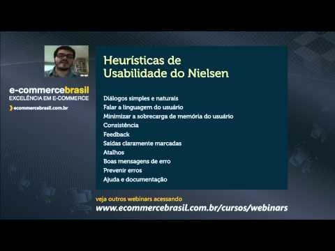 Webinar: Usabilidade e Experiência do Usuário no E-commerce