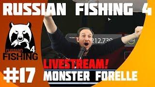RUSSIAN FISHING 4 #17 Livestream! Monster Forelle