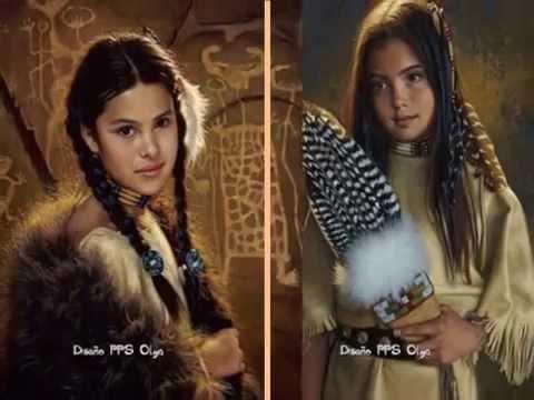 Pinturas de los nativos Americanos de Karen NolesOlga  YouTube