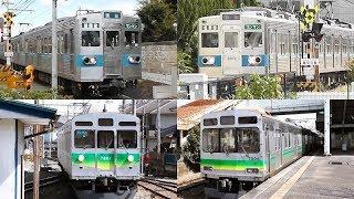 3種集合!秩父鉄道5000系/7000系/7500系 - Chichibu Railway 5000, 7000 and 7500 Series