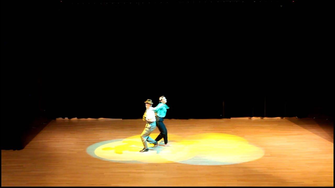 Crazy Swing Camp 2012 - Ninjammerz Cabaret - Maeva Trunzter & William Mauvais