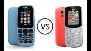 nokia 105 (2017) vs Nokia 130 (2018) Speed Test Comparison  Real Test - In 2019