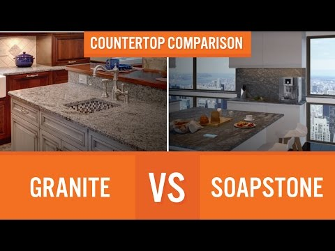 Granite Vs Soapstone Countertop