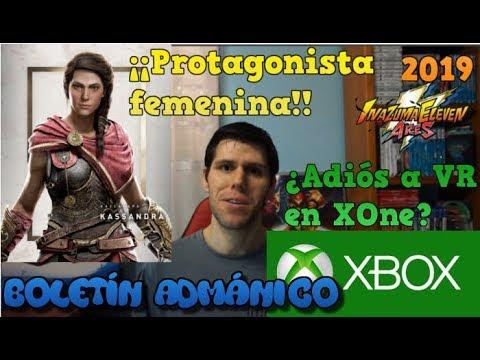 Boletín Admánico - Kassandra protagonista de AC Odyssey, Microsoft descarta VR en XONE y más