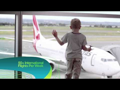 Adelaide Airport's 30-year vision takes flight