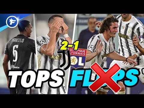 Marcelo en patron, CR7 n'a pas suffi, la déception Rabiot | Les Tops et les Flops de Juventus-OL