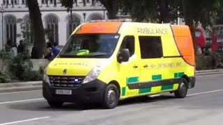 London Ambulance Service + Caring for you // Emergency Ambulance and High Dependency Unit Responding
