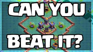 Can YOU Beat it and WIN? Clash of Clans HARDEST TROLL BASE EVER!