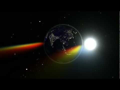 Lunar Eclipse: Light Scattering Seen From The Moon [1080p]