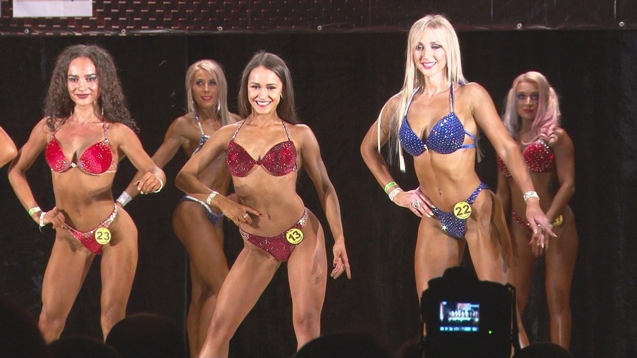 Соревнование по фитнес бикини антонина