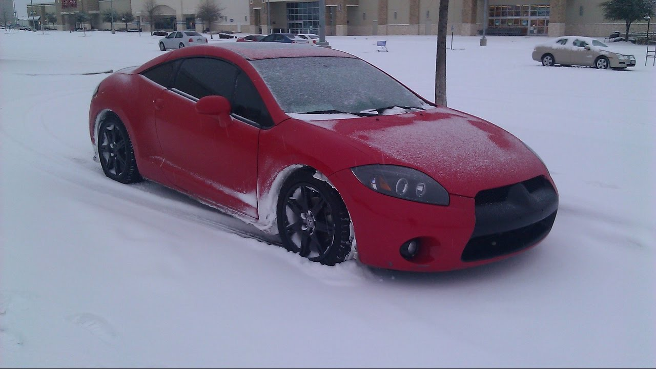 4G Eclipse GT In The Snow - YouTube