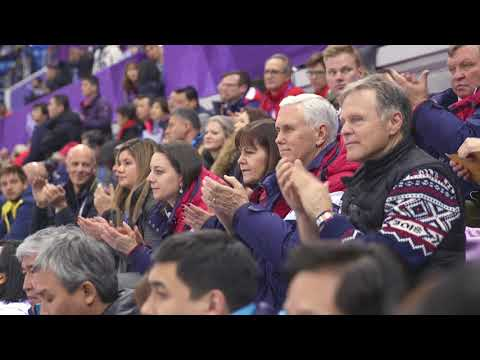 Vice President Pence at the 2018 Winter Olympics