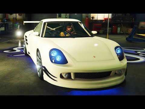 "GTA ONLINE - Pimp My Ride   Pfister Comet ""Porsche 911"" Car Tuning Customization (GTA V)"