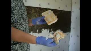 Redneck Mansion Kitchen Remodel Painting Technique