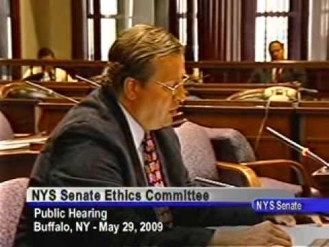 Senate Ethics Committee Hearing - Buffalo, NY - May 29, 2009