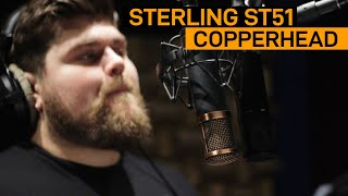 Sterling ST51 vs. Telefunken CU29 Copperhead | VO Mic Comparison