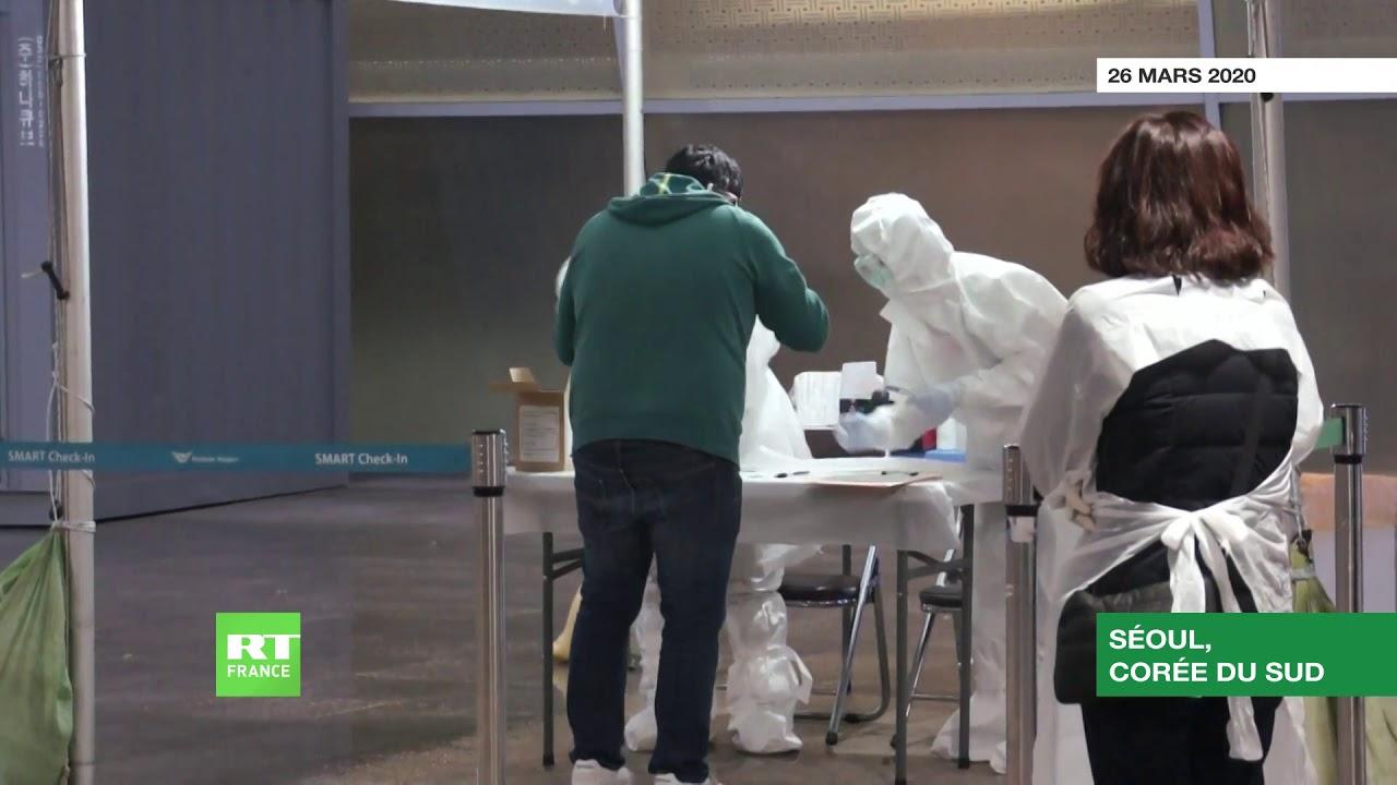 Corée du Sud : des cabines de dépistage installées à l'aéroport d'Incheon pour contrer le COVID-19