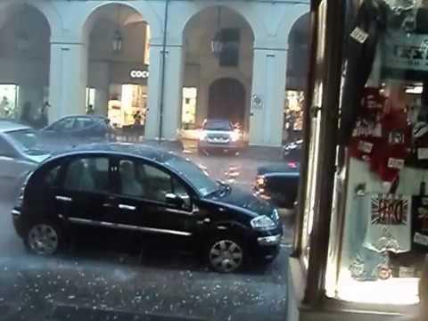 Rain in Turin