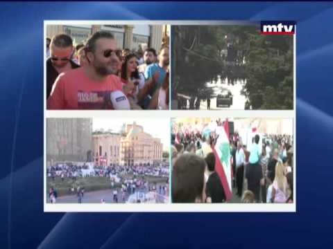 بالفيديو: حفل وداع العزوبية في التظاهرة!
