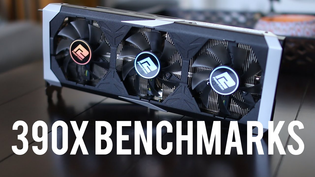 PowerColor PCS+ R9 390X Benchmarks and Review