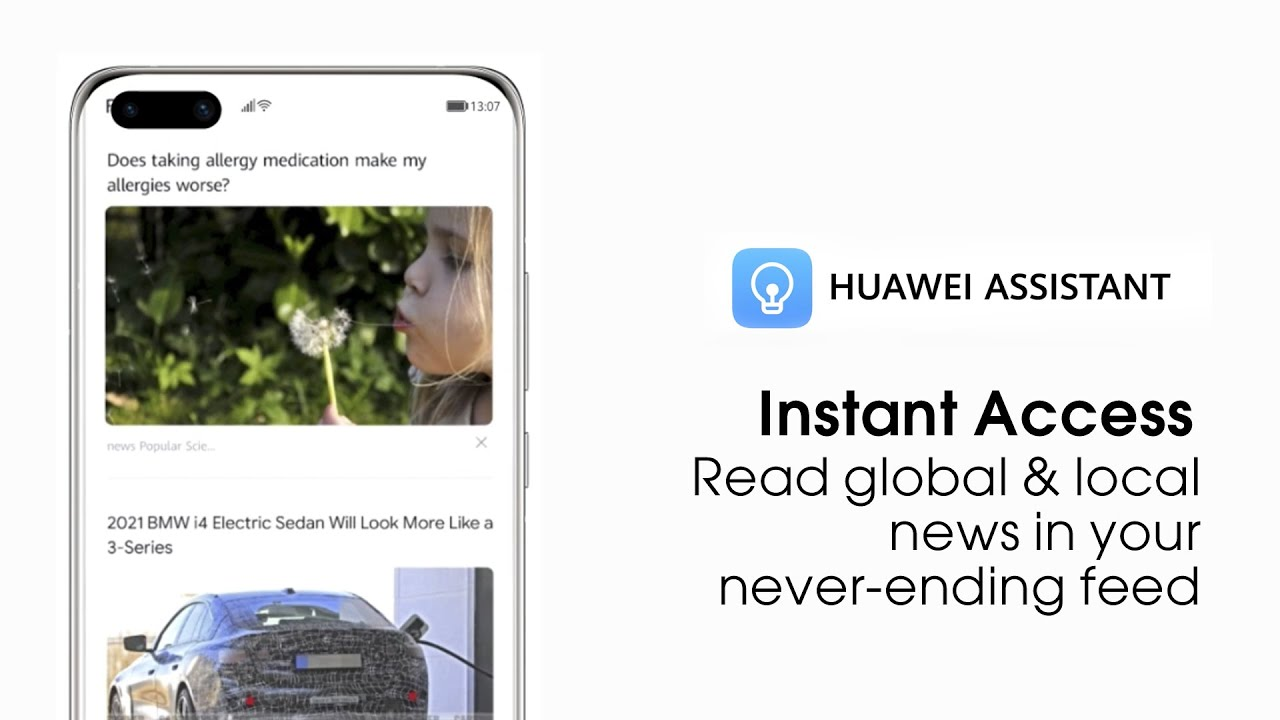 HUAWEI Assistant - Newsfeed