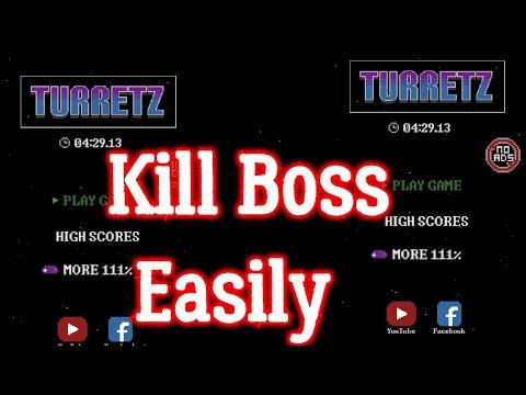 Turretz 111% Best combination beat Boss...