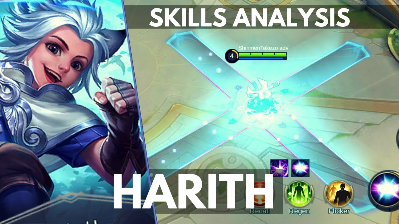 Harith New Mage Hero Skill And Ability Explained Mobile Legends