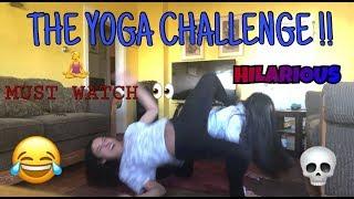 The Yoga Challenge, HILARIOUS !