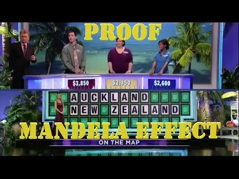 Mandela Effect : 4x Video Proof Auckland Capital of New Zealand