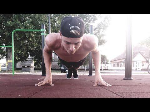 Street Workout Tricepsz és Mellre   Edzésterv (Leírás)