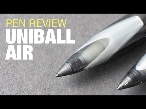 Artist Review: Uniball Air Rollerball Pen