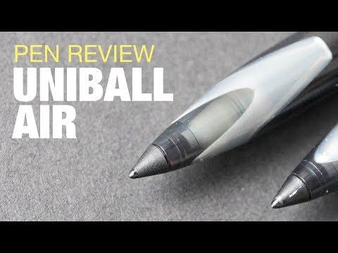 Artist Review: Uniball Air Rollerball Pen