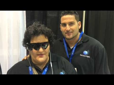 Live from the 2014 AAO - Argus II Retinal Implant Patient