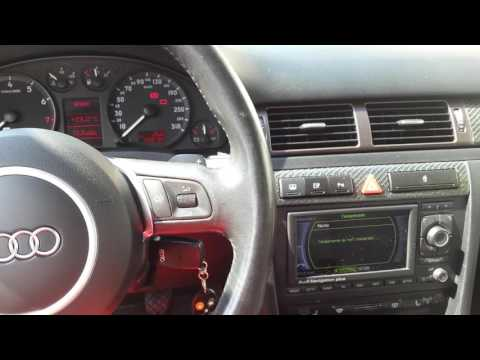 Voice command on Audi A6 S6 C5 4B and RNS-E