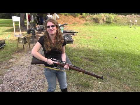 Shanni Shoots the No.1 MKIII* Enfield 1918 SMLE