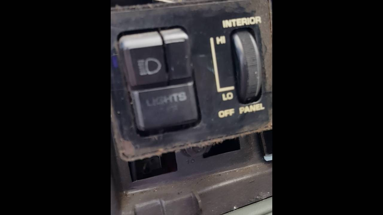 hight resolution of 1985 oldsmobile cutlass supreme headlight switch replacement youtube1983 cutlass fuse box 13