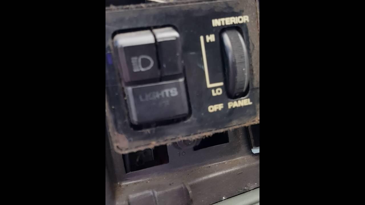 medium resolution of 1985 oldsmobile cutlass supreme headlight switch replacement youtube1983 cutlass fuse box 13