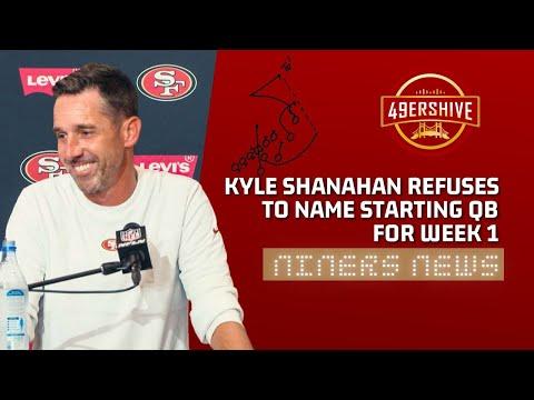 Niners News: Kyle Shanahan REFUSES to Name a Starting QB