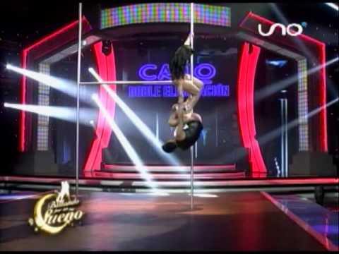 VIDEO: Gabriela Zegarra y Manuel bailan el ritmo de 'El Caño' en Bailando por un Sueño Bolivia