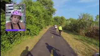 Cedar Rapids Blue Zone Kickoff Bike Ride 2 7K