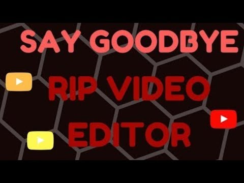 YouTube is removing video editing September 20th 2017