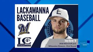 Joey Baran Drafted by Brewers - SSPTV News