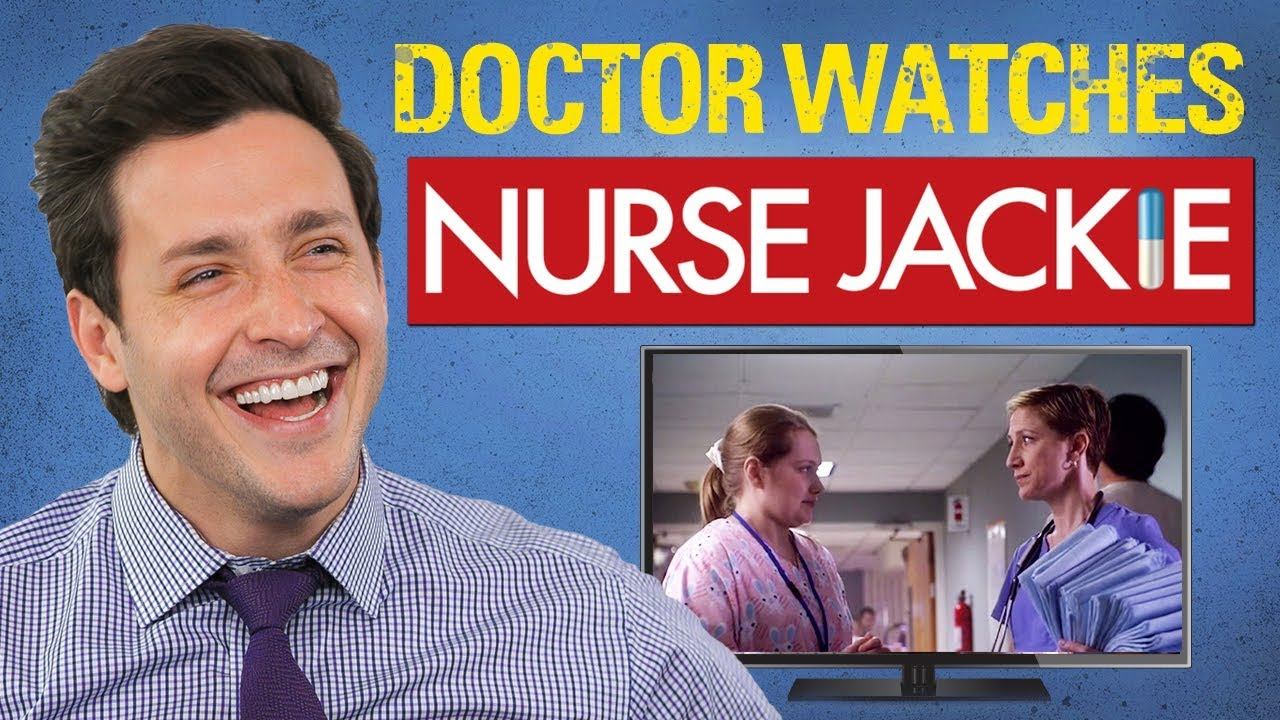 real-doctor-reacts-to-nurse-jackie-medical-drama-review-doctor-mike
