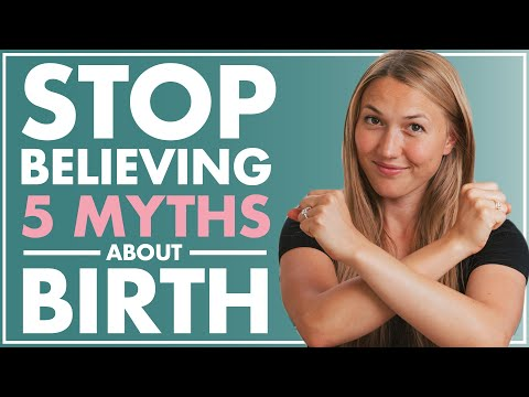 5 MYTHS about CHILDBIRTH You Should STOP Believing | What is Childbirth Really Like?