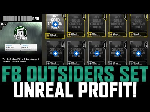 FOOTBALL OUTSIDERS SET | INSANE PROFIT! 400K CAN BE MADE IN SECONDS! | MUT 18
