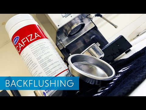 Backflushing The Gaggia Classic Pro With Cafiza - Maintenance For Espresso Machines