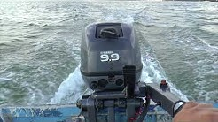 2010 Yamaha 9.9hp 2 Stroke Tiller Outboard Motor